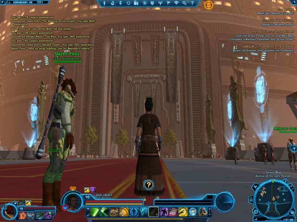 MMORPG Star Wars The Old Republic Free to play Review (2015